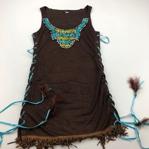 Native American Costume Size Small